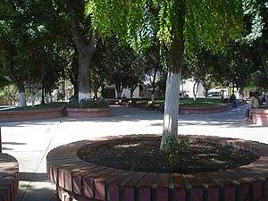 Olmué - Plaza in Olmué.