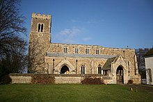 St.Laurence's church, Corringham, Lincs. - geograph.org.uk - 113719.jpg