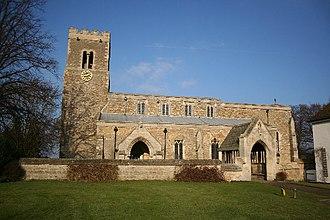 Corringham, Lincolnshire - Image: St.Laurence's church, Corringham, Lincs. geograph.org.uk 113719