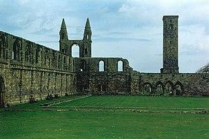James Haldenston - Ruins of St Andrews Cathedral Priory