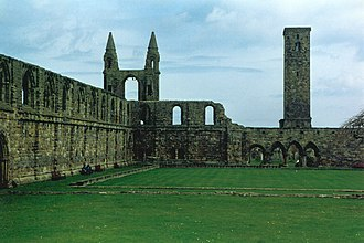 Robert I, Prior of St Andrews - Ruins of St Andrews Cathedral Priory