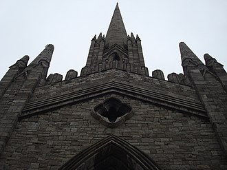 St Mary's, Dublin (chapel of ease) - Image: St. Marys Chapel of Ease, Dublin, Steeple