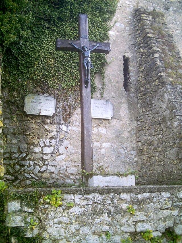Gosselins grav i Bouxières-aux-Dames
