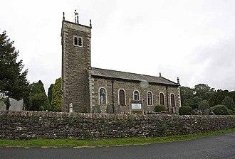 Ings, Cumbria - Image: St Ann's, Ings Cumbria