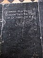 St George's church - C17 ledger stone - geograph.org.uk - 846822.jpg