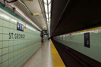 St. George station - Image: St George Platform 01