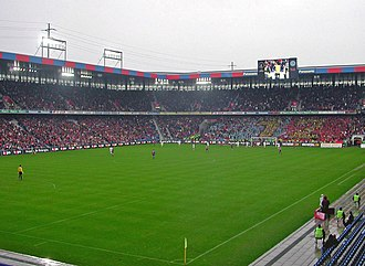 FC Porto in international football competitions - The 1984 Cup Winners' Cup final, between Juventus and Porto, was held in Basel's former St. Jakob Stadium, now replaced by the modern St. Jakob-Park (pictured).