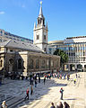 St Lawrence Jewry, viewed from Guildhall Art Gallery.jpg