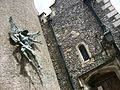 St Michael statue, St Michael, Lewes.JPG