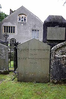 St Oswald, Grasmere, Cumbria - Gravestone - geograph.org.uk - 950468.jpg