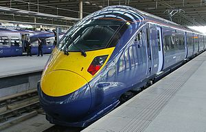 2012 Summer Olympic development - The Olympic Javelin service runs between St Pancras and Ebbsfleet, via Stratford