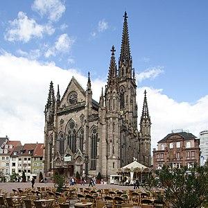Jean-Baptiste Schacre - Image: St Stephen's Church Mulhouse FRA 001
