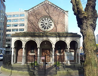 Cathal Brugha Street - St. Thomas church