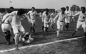 Romania national rugby union team - Romania versus France at the Inter-Allied Games of 1919