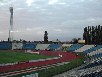 CS Universitatea Craiova - Stadionul Ion Oblemenco (1967)