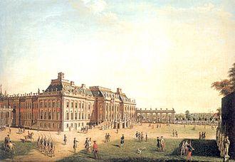 Potsdam - Stadtschloss Potsdam in 1773