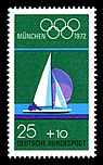 Stamps of Germany (BRD), Olympiade 1972, Ausgabe 1972, 25 Pf.jpg