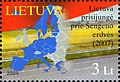 Stamps of Lithuania, 2009-25.jpg