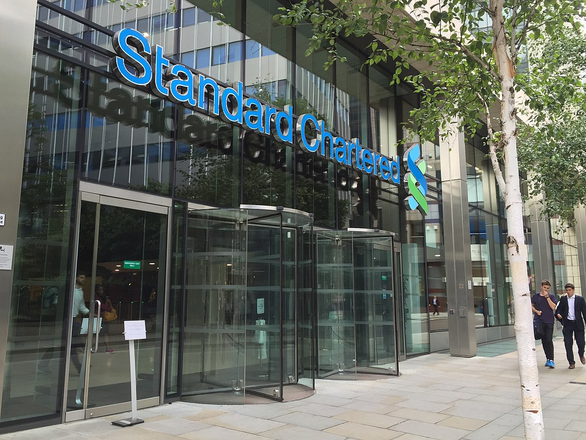 startegy of standard chartered bank 'banking for future' contest 2016branchless banking service through mobile van submitted by legendary charterers nishant ud.