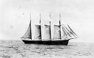 Carrier Dove (schooner) - Image: State Lib Qld 1 127155 Carrier Dove (ship)
