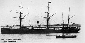 SS Agamemnon (1865) - Image: State Lib Qld 1 133053 Agamemnon (ship)