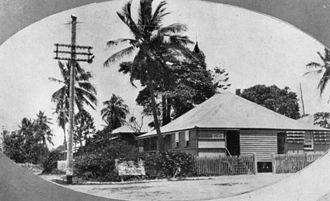 Cardwell Bush Telegraph - Cardwell Post Office in 1930