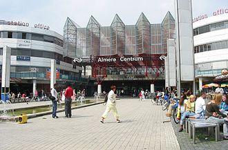 Flevoland - Almere Centrum railway station