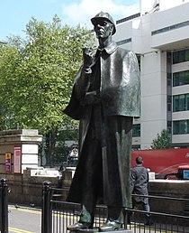 Statue Of Sherlock Holmes-Marylebone Road.jpg
