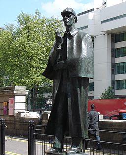 Statue Of Sherlock Holmes-Marylebone Road