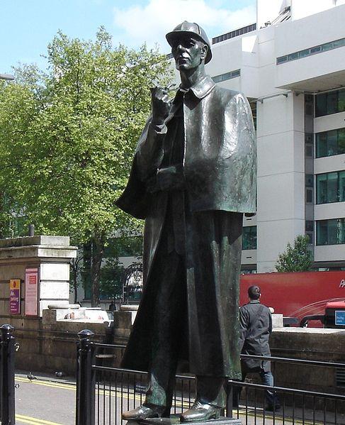 File:Statue Of Sherlock Holmes-Marylebone Road.jpg