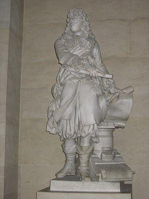 Charles-Antoine Bridan - Vauban, Marshal of France by Charles-Antoine Bridan, Palace of Versailles, 1785