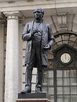 Statue of Rowland Hill, London, August 2014 04.jpg
