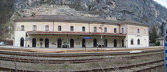 Cismon del Grappa - Railway station.
