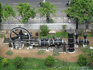 Visvesvaraya Industrial and Technological Museum - Image: Steam Powered Engine