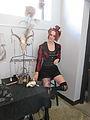 Steampunk Makers Fair Lafayette 2013 CdA Skulljeweler.JPG