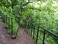 Steep zig zag path on the Trans Pennine Trail - geograph.org.uk - 826405.jpg