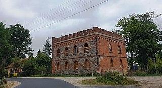 Stega Mała Village in Warmian-Masurian Voivodeship, Poland