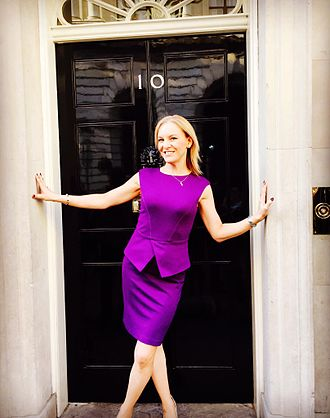 Stephanie Hirst - Stephanie Hirst during an invited visit to 10 Downing St in 2016
