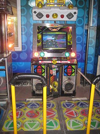 StepMania - StepMania-based arcade machine in a Chinese amusement park