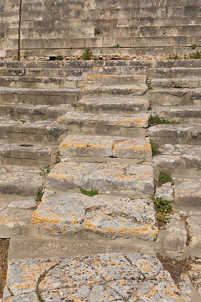 File:Steps theatral area Phaistos.jpg
