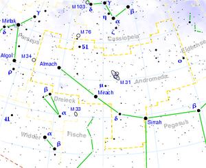 Andromeda (Sternbild)
