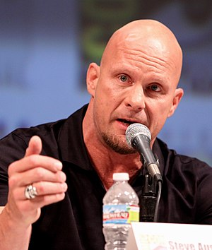 Stone Cold Steve Austin at the 2010 Comic Con ...