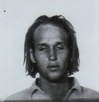 "Steve ""Clem"" Grogan - Mug shot taken in 1969"