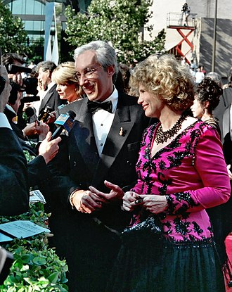 Steven Bochco - Bochco and Barbara Bosson in 1994