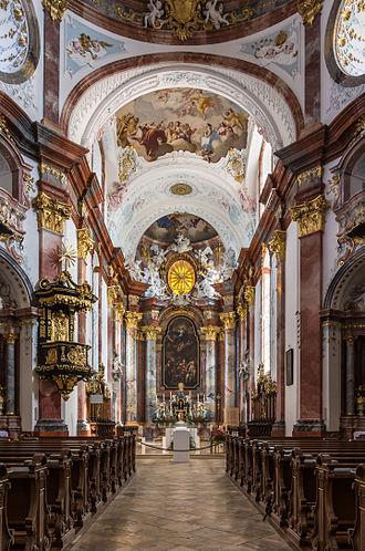 Altenburg Abbey - Interior of the Abbey