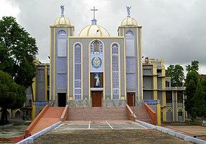 St. Jude's Shrine, Jhansi - Image: Stjude