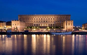 English: The Royal Palace, Stockholm, Sweden.