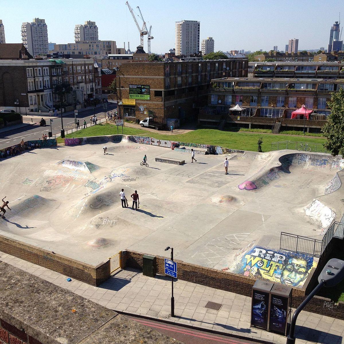 Stockwell Skatepark - Wikipedia
