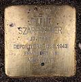 Stolperstein Almstadtstr 7 (Mitte) Jettie Szarfscher.jpg