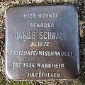 Stolperstein Dahn Kirchgasse 1 Jakob Schwalb.jpg